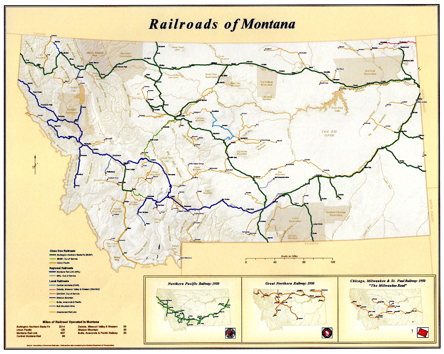 Picture of: Vintage Montana Maps